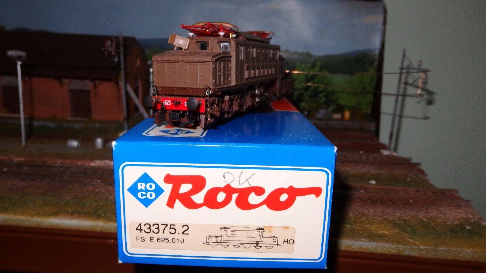 ROCO 43375.2 E625 010 Castano/isabella 4a serie, con compressore meccanico FS