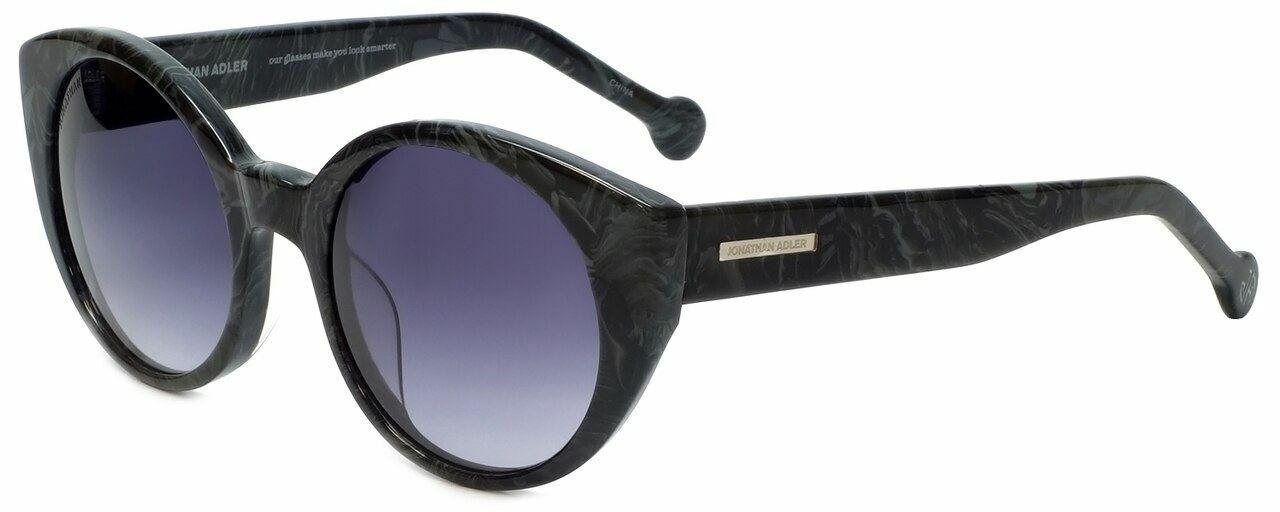Jonathan Adler Designer Sunglasses Monte Carlo en Noir