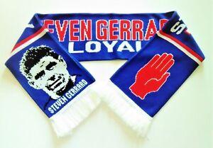 Glasgow-Rangers-FC-Scarves-Steven-034-Stevie-G-034-Gerrard-Scarf-Football-Memorabilia