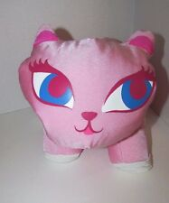 Microbead Nylon Spandex Pink Cat blue eyes plush Idea Nuova  pillow