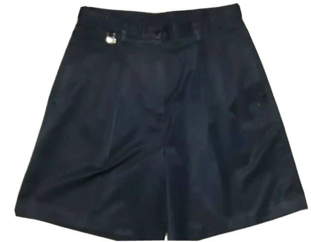Womens golf shorts size 10 , comfy ,navy blue , with ball marker