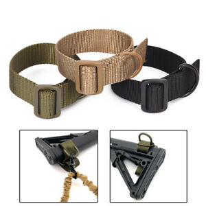 Heavy-Duty-Tactical-ButtStock-Sling-Adapter-For-Shotgun-Rifle-Attachment-MoMA6K