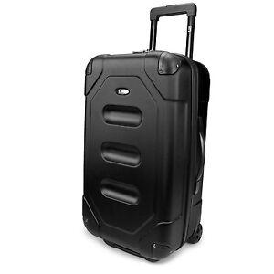 "Motorcycle Bookbag US Traveler Long Haul 24"" Black Cargo Trunk Case Lightweight Rolling ..."