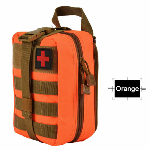 Durable Tactical MOLLE Rip-Away EMT IFAK Medical Pouch First Aid Kit Utility Bag