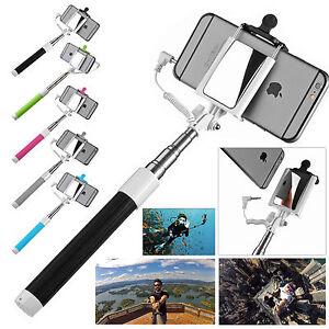 mini portrait selfie pole handheld stick monopod phone back camera holder mirror ebay. Black Bedroom Furniture Sets. Home Design Ideas
