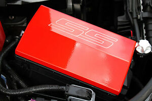 2010 2014 chevrolet camaro fuse box cover ss logo orange. Black Bedroom Furniture Sets. Home Design Ideas
