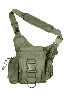 Cerca Voli Us Advanced Army Outdoor Tactical Combat Shoulder Hip Bag Spalla Borsa Verde Oliva-mostra Il Titolo Originale Ulteriori Sorprese