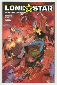 Lonestar-Heart-of-the-Hero-Cover-B-SIGNED-amp-SKETCH-by-Mike-S-Miller