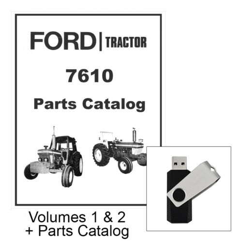 Ford 2600 3600 4100 4600 5600 6600 6700 7600 7700 Tractor Service Repair Manual