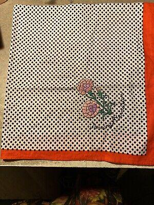 DV Fashions 100/% Cotton Large Red//White Polka Dot Scarf Bandana DV29