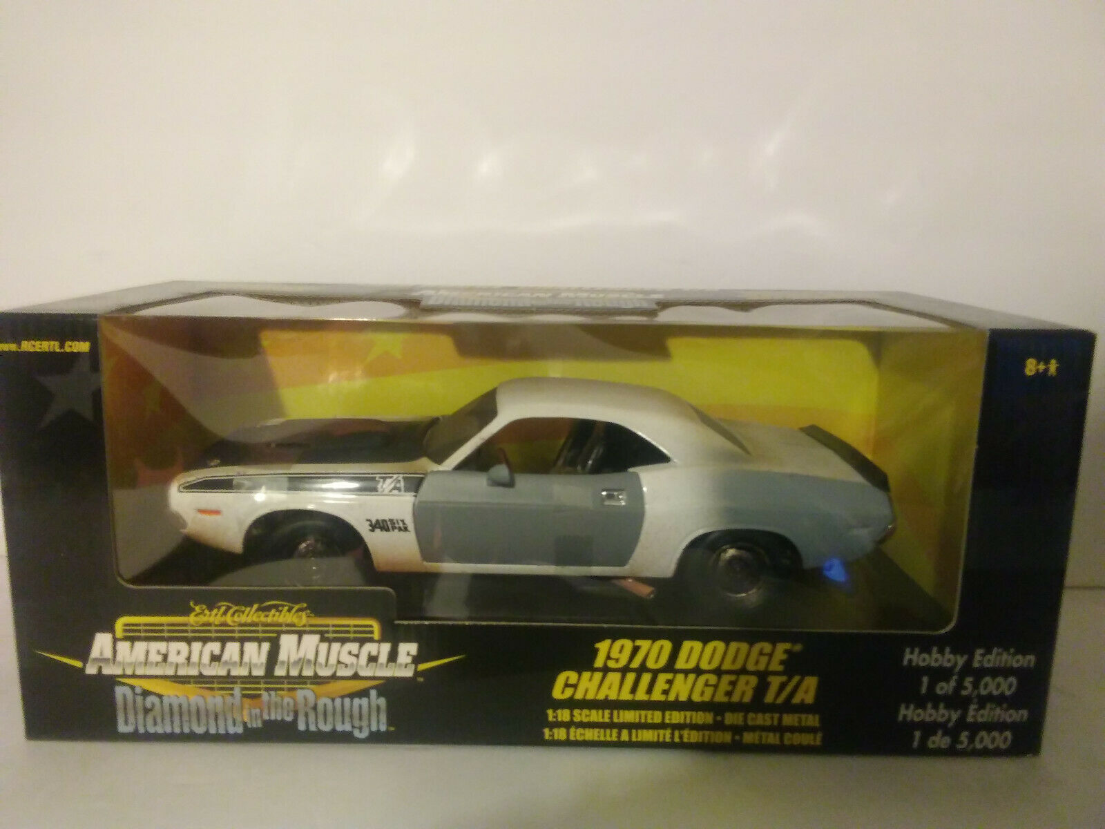 moda clasica 1970 Dodge Challenger Challenger Challenger T a escala 1 18 Die Cast Metal American Muscle  con 60% de descuento