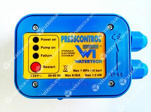 Belle Scheda Circuito Presscontrol Ricambi Elettropompa Autoclave Watertech Bar Press Les Couleurs Sont Frappantes