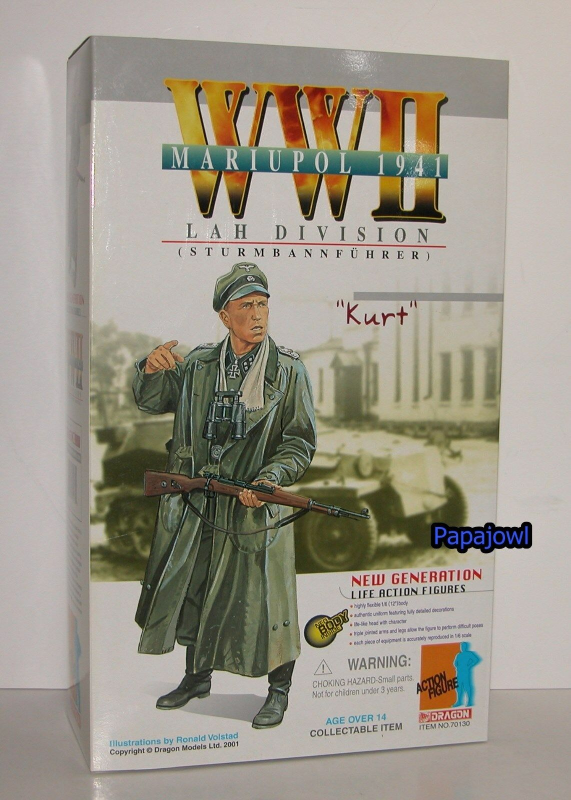 New Generation Dragon WWII Mariupol 1941 Lah Division Kurt 12  Action Figure