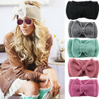 Winter Women Ear Warmer Headwrap Fashion Crochet Headband Knit Hairband