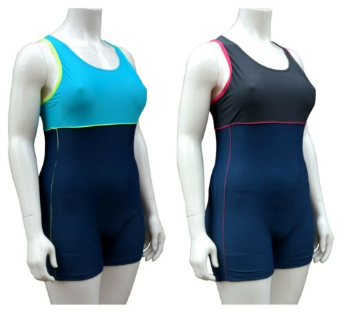 ACCLAIM Lyon Three Colour Ladies Boy Leg Modesty Swimming Costume 2020 Model
