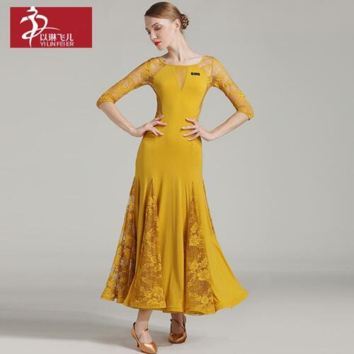 2017 NEW Latin Ballroom Dance Dress Salsa Modern Waltz Tango Dress #S7008