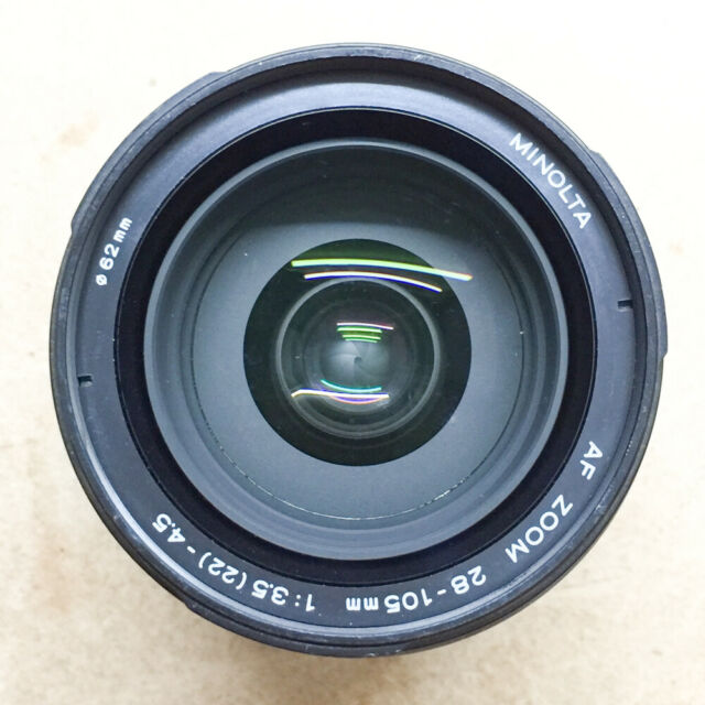 Minolta AF Zoom 28-105mm f/3.5-4.5 Lens, for Minolta Sony a Alpha Mount