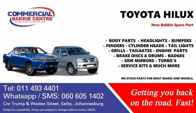 Toyota Hilux Parts and Spares For Sale