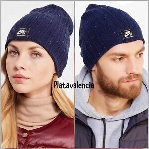newest 88dd2 d72fd Image is loading Nike-SB-Surplus-Beanie-Woolly-Knit-Hat-Winter-