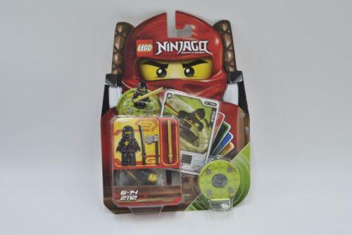 LEGO Set 2112 Ninjago Cole Anleitung 5 Original Spielkarten Trading Cards sealed