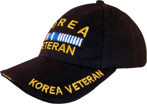 0041 Embroidered Cap Korea Veteran
