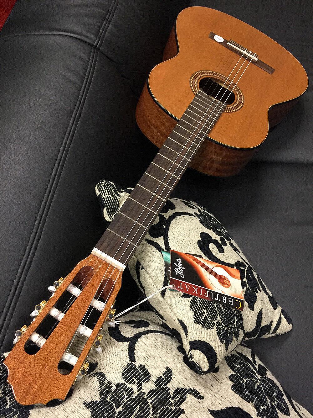 HÖFNER HHM-MZ Klassik Konzert-Gitarre 4 4