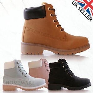 fa5accae2af3 SALE GIRLS KIDS WORKER STYLE BOOTS LACE UP FASHION FEMENINE BOOTS ...