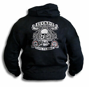 Biker-Ace-USA-Lucky-7-Seven-Live-To-Ride-Mens-Hoddie-Hooded-Top-Sm-2XL