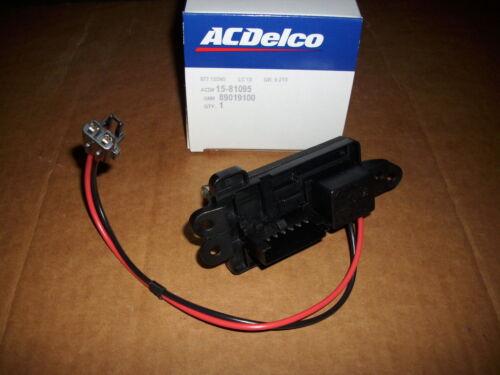 A//C Delco 15-81772~Heater Blower Motor Resister~22807121~TrailBlazer~Envoy~NIB