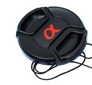 Lc-72 Centre Pinch Lens Cap Pour Sony Alpha Lentilles Capuchon Cordon Pour S'adapter Filtre 72mm Uk-afficher Le Titre D'origine Dxawtkim-12164800-625647188