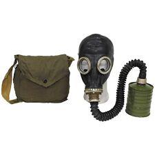 """Russische Schutzmaske ABC Gasmaske """"GP 5"""", gebraucht + Filter + Tasche schwarz"""