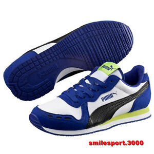 Scarpe Ragazzo 351979 044 PUMA Cabana Racer SL Jr scuola/tennis/palestra