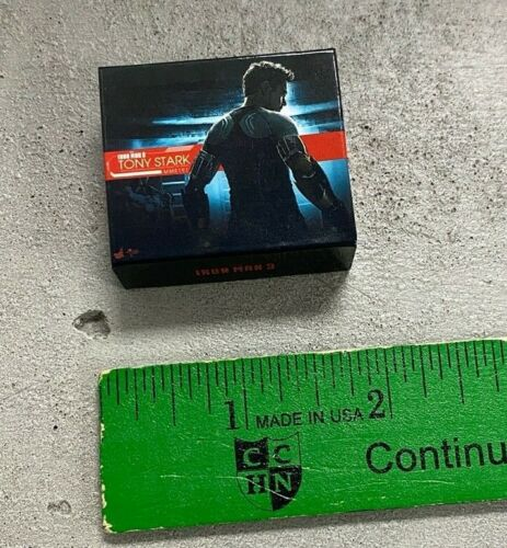 Miniature 1//12 scale Tony Stark Toy Box MINI-BOX-TS2 No Figure
