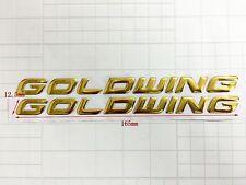 "2 #2364 4/"" Honda Goldwing GL1800 GL1500 decal Sticker Decal LAMINATED"
