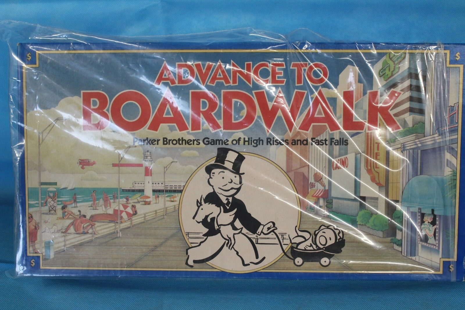 COMPLETE Vintage To 1985 Advance To Vintage Boardwalk Board Game Parker Brothers Monopoly a7d3e6