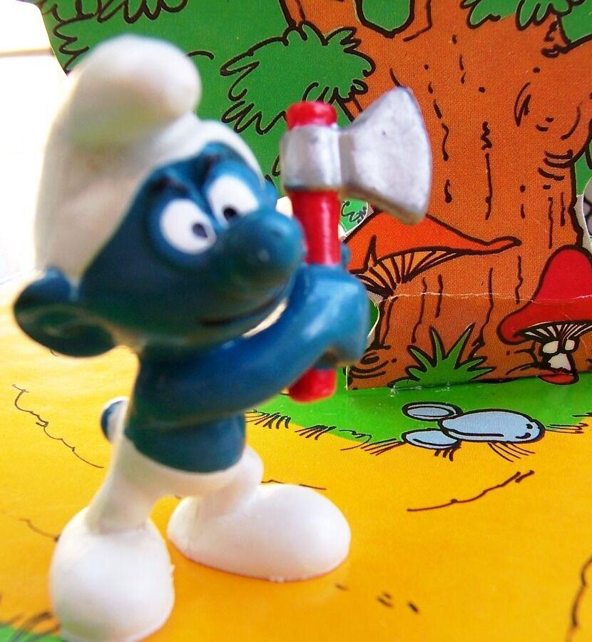 20087 jubile Schtroumpf bucheron bucheron bucheron smurf pitufo puffo puffi  schtroumpfette 1975 c694f3