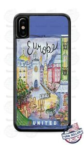 Classic-Europe-United-Travel-Poster-Phone-Case-Cover-For-iPhone-Samsung-LG-etc