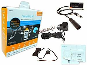 iSimple ISFM2351 Tranzit BLU HF Bluetooth Hands-Free Kit with Audio Streaming