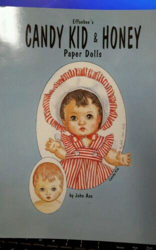 EFFANBEE'S CANDY KID & HONEY PAPER DOLLS BY JOHN AXE *SALE*
