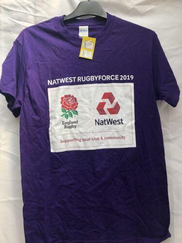 LSR19778//79//80 Natwest RugbyForce 2019 Tee Various