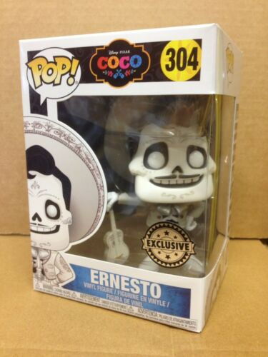 Disney Pixar COCO ERNESTO #304 Exclusive Vinyl Figure *BRAND NEW* FUNKO POP