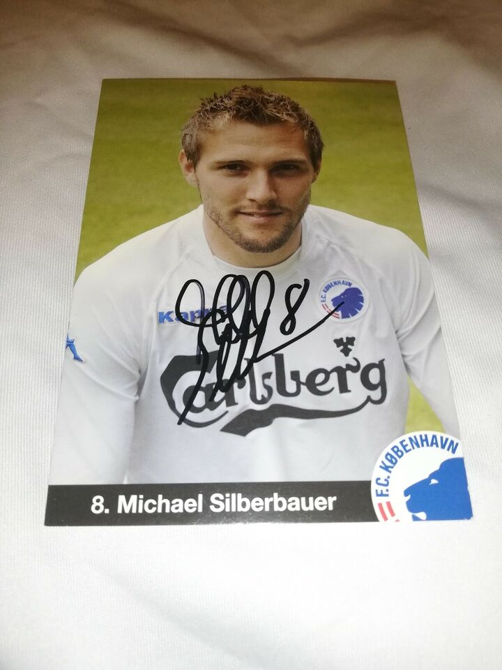 Autografer, Michael silberbauer autograf