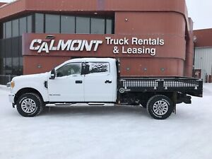 2017 Ford F 350 XLT 4x4 - 9' Brutus Deck with Fold Down-Sides