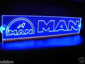 Details about 12V LED Cabin Interior Light Plate for MAN Truck Neon  Illuminating Sign 500mm