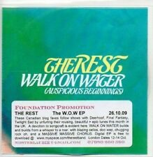 (AB769) The Rest, The W.O.W. (Walk On Water) EP - DJ CD