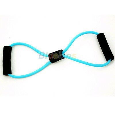 Women's Resistance Bands Stretch Fitness Exercise For Yoga Training 8 Type BC5U