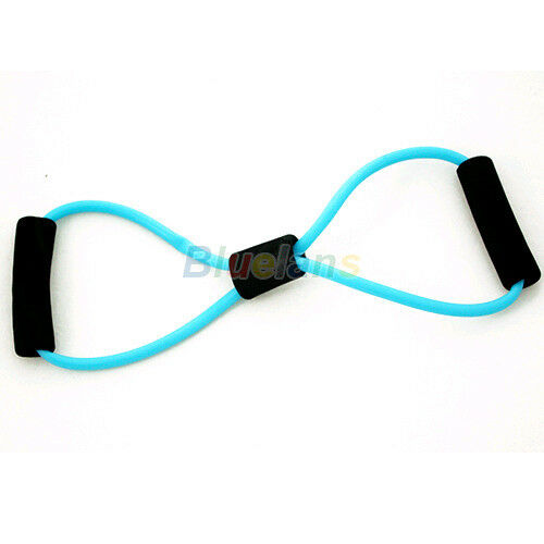 Resistance Bands Stretch Tube Fitness Workout Exercise For Yoga Training 8 Type