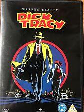 Warren Beatty Madonna Al Pacino DICK TRACY ~ 1990 Comic Booc Family Film UK DVD