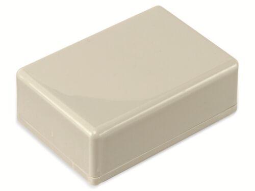 STRAPUBOX Kunststoffgehäuse 72 x 50 x 26 mm Typ 2024 GR
