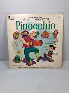DISNEY-PINOCCHIO-Original-Movie-Soundtrack-12-034-Vinyl-Record-LP